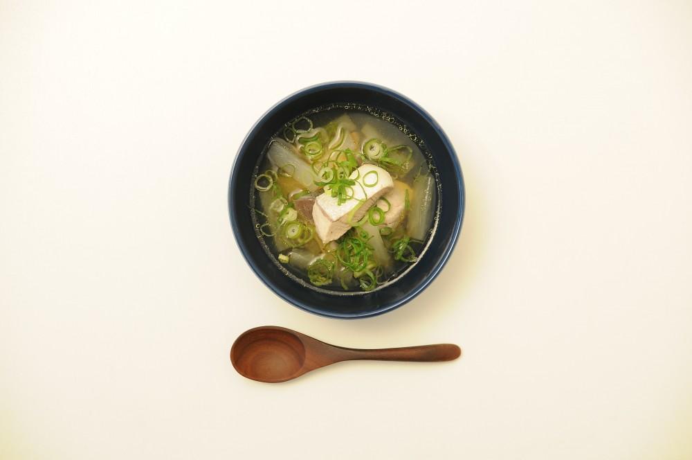 鰤と大根の煮込みスープ