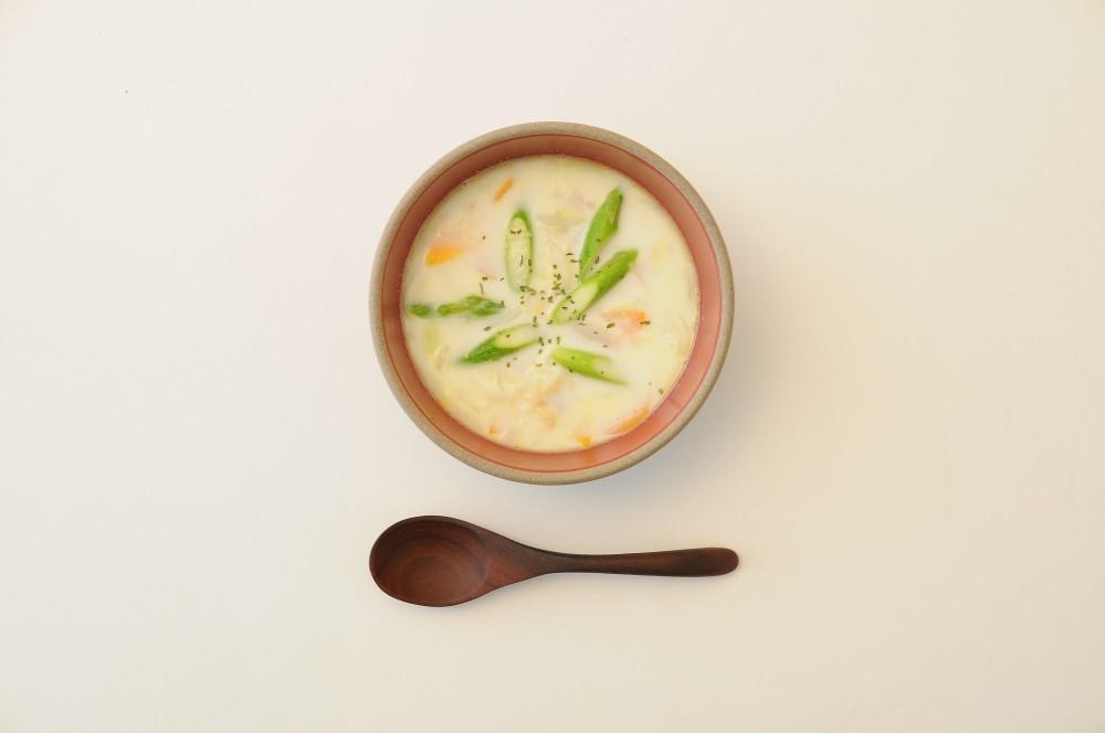ホタテのチャウダースープ